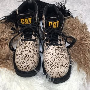 CATERPILLAR boot animal print EU 39.5 NEW